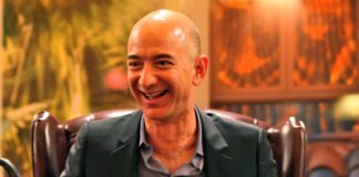 rosnijwsile.pl Jeff Bezos photo: Steve Jurvetson Flickr: Bezos' Iconic Laugh