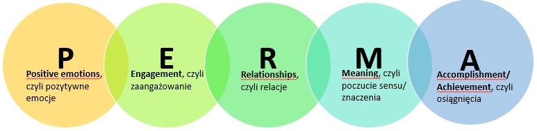 rosnijwsile.pl Jak być szczęśliwym? Model PERMA - Pełnia życia - Martin Seligman E.P.