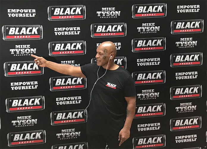rosnijwsile.pl Mike Tyson w Polsce Warszawa czerwiec 2019 Black Energy Drink Empower Yourself