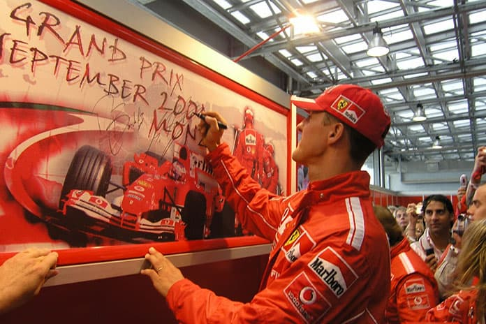 Zasady sukcesu Michael Schumacher - Monca 2004 - Photo: www.flickr.com Zastita portal