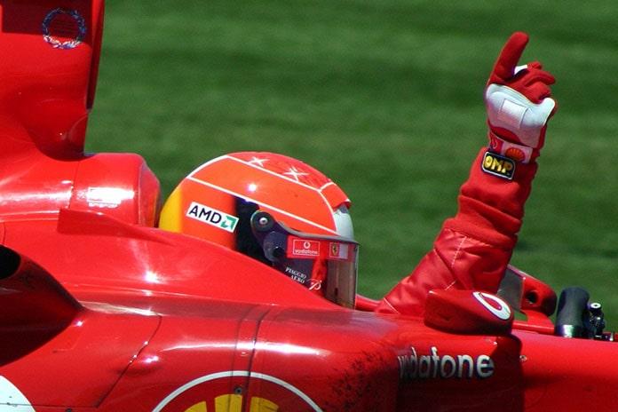 Zasady sukcesu Michael Schumacher - Zwycięstwo Ferrari - Photo: www.commons.wikimedia.org Rdikeman