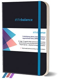 Planner #lifebalance. 12 tygodni do zdrowego stylu życia